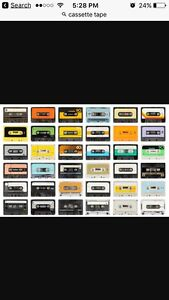 Looking for cassette tape