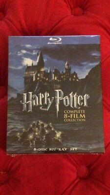 Harry Potter: Complete 8-Film Collectionl Blu-ray box set brand new sealed comprar usado  Enviando para Brazil