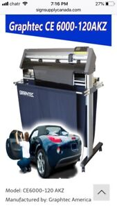 WANTED!!!  Graphtec ce6000-120 akz