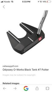 Odyssey O works #7 counter balance putter