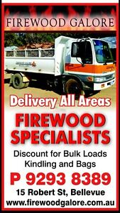 ( OVER STOCKED ) Jarrah firewood same/next day delivery Midland Swan Area Preview