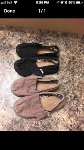 Two Pairs 9T TOMS $10 for both