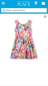 ISO:  The Children's Place Photo-real Cat Skater Dress