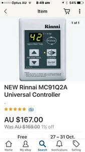 Rinnai gas heater controller Hornsby Hornsby Area Preview