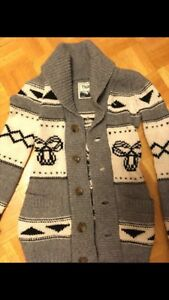 Worn once tna wool long button up cardigan  size small