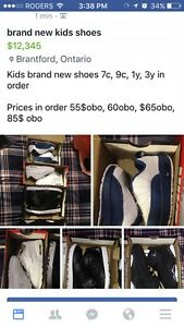 New kids shoes