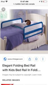 Child Bed Fence folding bed rail