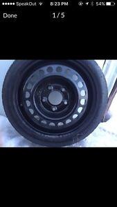 Spare Doughnut Tire t125/70d15
