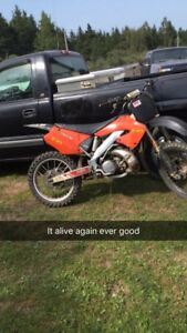 2001 cr250r trade for truck