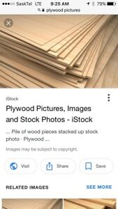 ISO Used plywood