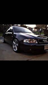 1999 Audi A4 awd auto/tip 1.8L lowered on 18""