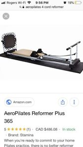 Aeropilates 365 4 cord with reformer