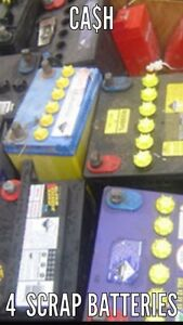 12V SCRAP BATTERIES REMOVAL WE BUY SCRAP BATTERIES LARGE AMOUNTS ONLY Revesby Bankstown Area Preview