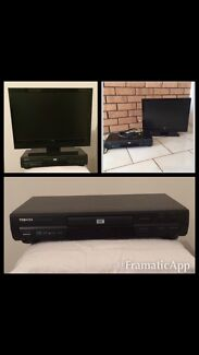 """22"""" Full HD LCD TV and Toshiba DVD player Padbury Joondalup Area Preview"""