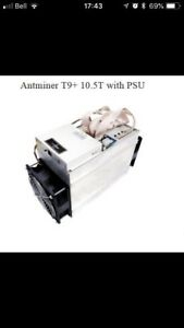 Antminer T9+ 10.5 T/h with APW3++