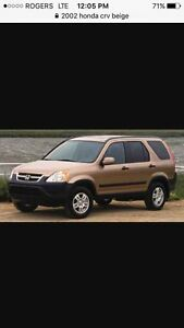 2002 Honda CR-V $1400 FIRM this weekend only
