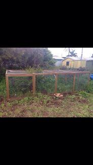 Chicken, duck, rabbit, cat, guinea pig run,  animal enclosure Christies Beach Morphett Vale Area Preview