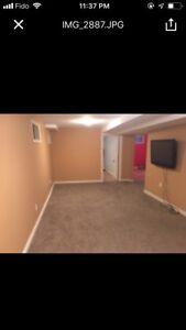 2 Bedrooms All Inclusive Basement Apartment