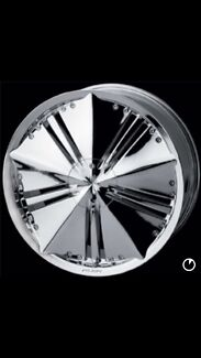 18x7.5 Alba Chrome Rims with Tyres Waterloo Inner Sydney Preview