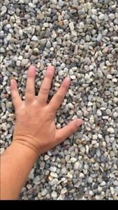 River Rock , sand , gravel - free delivery !
