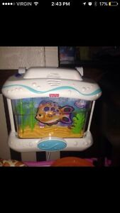 Ocean wonders fish aquarium with remote