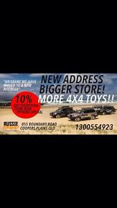 WE HAVE MOVED 4X4 PARTS AND ACCESSORIES ALL ON SALE Coopers Plains Brisbane South West Preview