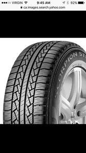 2 275 55 r 20 Pirelli scorpion str tires