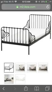 Extendable twin bed for kids bought in a ikea