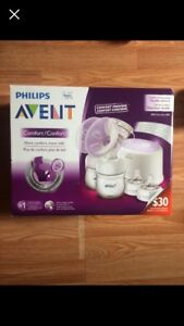 Avent double breast pump
