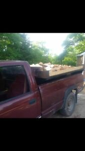 Firewood Hardwood, cut split delivered