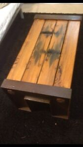 Iron Bark Railway Sleeper Hand Crafted Coffee Table Balmain Leichhardt Area Preview
