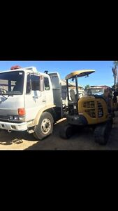Truck and digger hire Mansfield Park Port Adelaide Area Preview