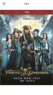 Pirates Of The Caribbean  Dead Men Tell No Tales  Dvd  Free Shipping To Us