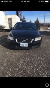 2008 Volvo s40 as is