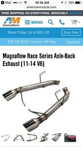 Magnaflow performance exhaust for Mustang V6