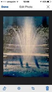 AWSOME Triple Tier Floating Fountain - Impressive Feature Benowa Gold Coast City Preview