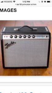 Looking for 68 reissue fender Princeton
