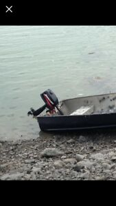 Boat and motor for sale