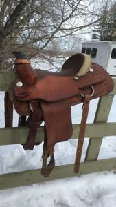 "15"" Billy Cook Roping Saddle Forsale! PRICE REDUCED"