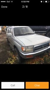 Wanted Toyota 4Runner or Tacoma / parts