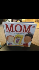 M.O.M Mom Operating Manual Hardcover Book.