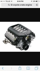 5L Coyote Engine