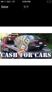 Junk car removal top dollar paid any condition same day service