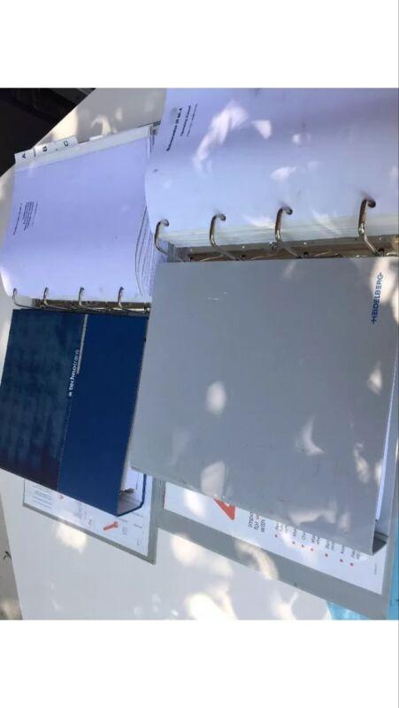Heidelberg QMDI manuals (4), Quickmaster DI 46-4 Operating & Parts,plus 2 more