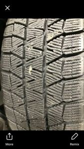 Bridgestone blizzak winter tires.