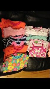 Baby girl clothes (6-9 months&12 months)for sale!!!