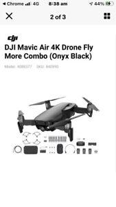 DJI Mavic Air low hrs swap Phantom4