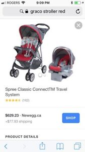 Graco upright stroller only