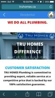 HOME BUILDERS - TRU HOMES Plumbers work with London Builders