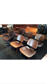 Selling (5)EAMES style DCW chairs and Arne Jacobsen (2) swan chair  Parramatta Parramatta Area Preview